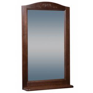 Зеркало ВАРНА 60 (в рамке с полочкой) Орех (BAS) МБ00051