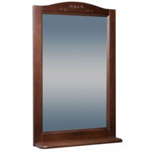 Зеркало ВАРНА 65 (в рамке с полочкой) Орех/Венге (BAS) МБ00053