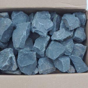 Камень габбро диабаз коробка 20кг колотый
