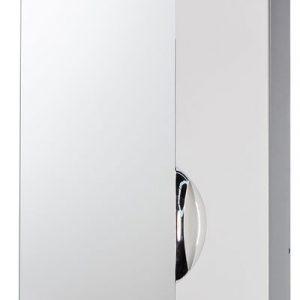 """Зеркало-шкаф """"Деко 60"""" правый (белый) 600х732х160"""