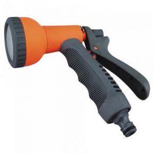 Пистолет-разбрызгиватель пласт, мягкая ручка, душ