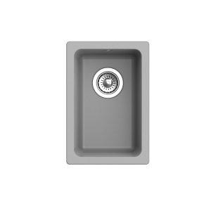 Мойка EWIGSTEIN EW-2540 ПОДСТОЛЬНЫЙ монтаж 1 чаша 310х460мм (серый металлик)