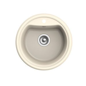 Мойка EWIGSTEIN Antik R50 1 чаша d=520 мм (крем)