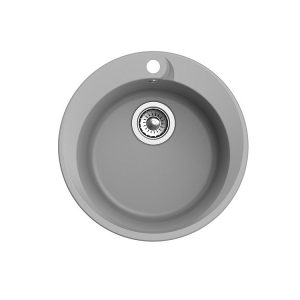Мойка EWIGSTEIN Rund 45 (серый металик) 1 чаша D-500мм