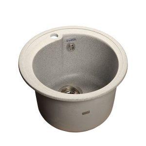 Мойка GRANFEST GF-R450 D =443 мм, круглая (серый - 310)