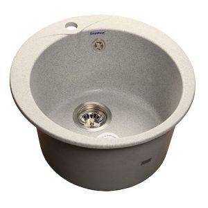 Мойка GRANFEST GF-R480 D =470 мм, круглая (серый - 310)