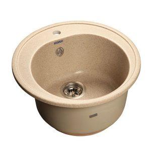 Мойка GRANFEST GF-R510 D =510 мм, круглая (песочный - 302)
