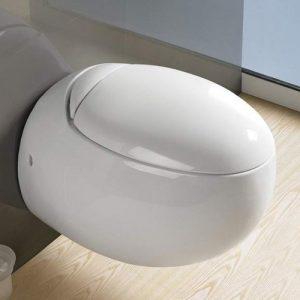 800-821B Унитаз подвесной (белый, микролифт, межосевое 180) 585х415х450 MELANA