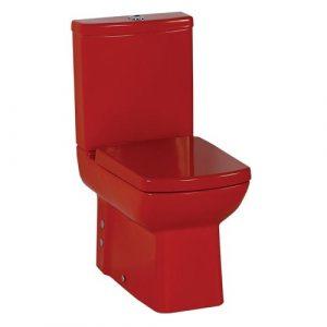 Унитаз к стене Красный CREAVIT LARA (без бачка и сиденья)