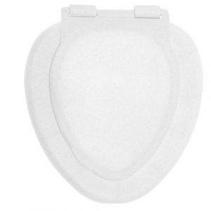 Сиденье д/унитаза ВИР ПЛАСТ белый мрамор ВП 20980523